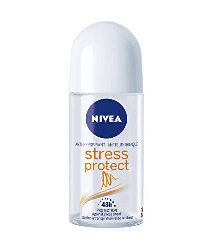NIVEA Stress Protect Zinc Complex Deodorant Roll-on -...