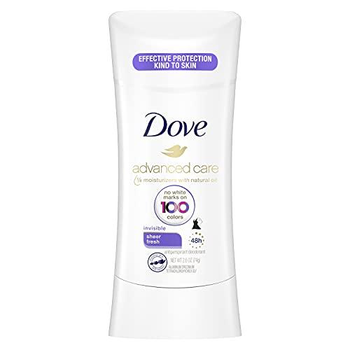 Dove Advanced Care Invisible Antiperspirant Deodorant...