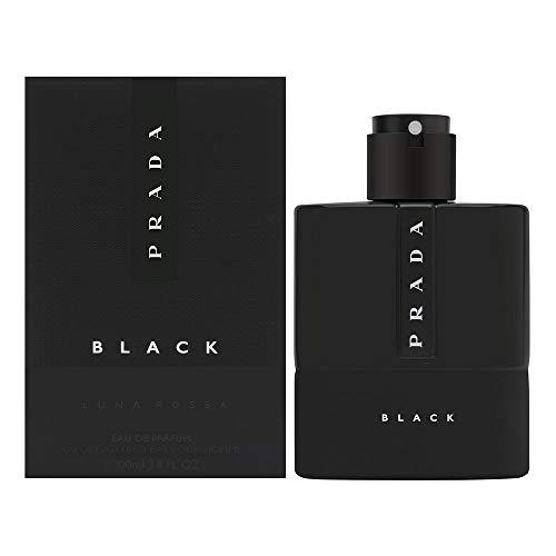 Prada Luna Rossa Black for Men Eau de Parfum Spray, 3.4...