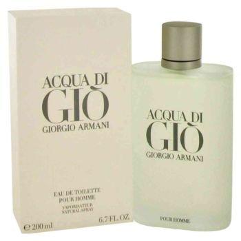 Acqua Di Gio Cologne by Giorgio Armani, 6.7 oz Eau De...