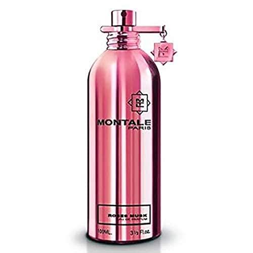 MONTALE Roses Musk Eau de Parfum Spray, 3.3 Fl Oz