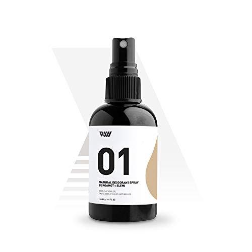 01 Natural Deodorant Spray, Aluminum Free Deodorant...