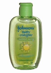 Johnson's Baby Cologne Summer Swing 125 ml Bottle