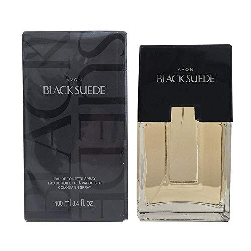 Avon Black Suede for Men Eau De Toilette Spray - 3.4...