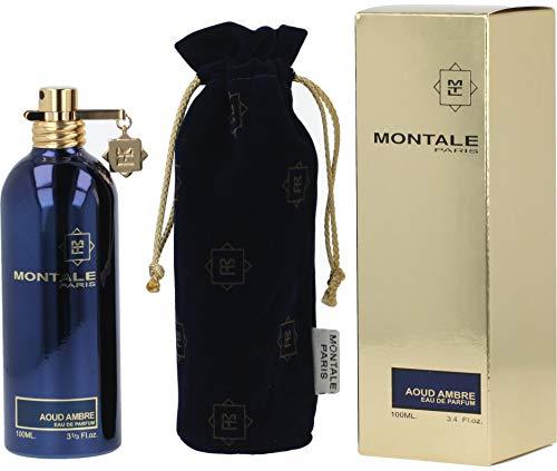 MONTALE Aoud Ambre Eau de Parfum Spray, 3.3 Fl Oz