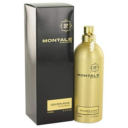 MONTALE Golden Aoud Eau de Parfum Spray, 3.3 Fl Oz