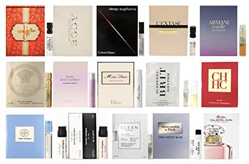 15 Women's Designer Fragrance sampler collection - 15...