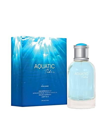 NEW Aquatic Tides Eau De Toilette Spray for Men, 3.4...