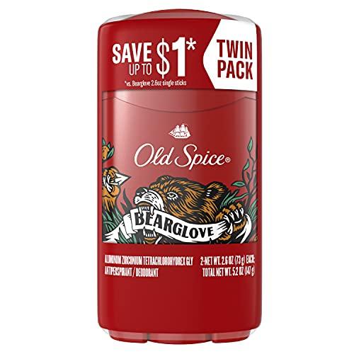 Old Spice Anti-Perspirant Deodorant for Men, Bearglove,...