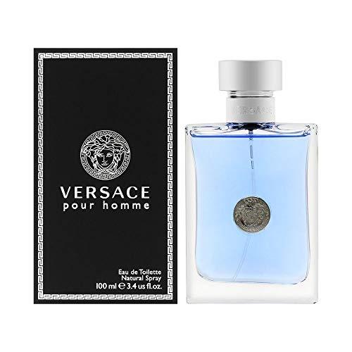 Versace Pour Homme Eau De Toilette Natural Spray 3.4 Fl...