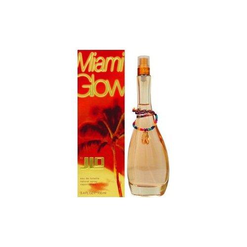 J.Lo Miami Glow Eau de Toilette Spray for Women, 3.4...