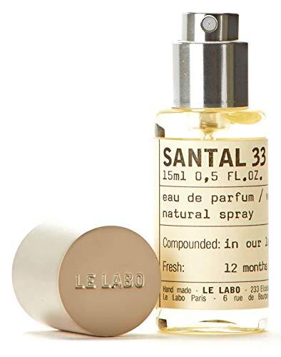 Le Labo Santal 33 Eau de Parfum 15ml / .5oz. Free...