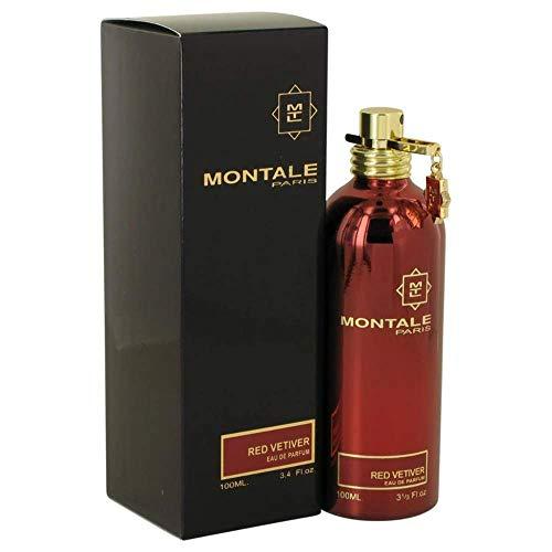 MONTALE Red Vetiver Eau de Parfum Spray, 3.3 Fl Oz