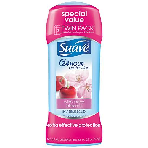Suave Antiperspirant Deodorant, Wild Cherry Blossom 2.6...