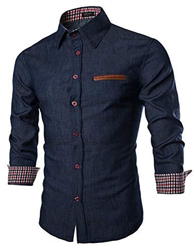 Coofandy Mens Casual Dress Shirt Button Down...