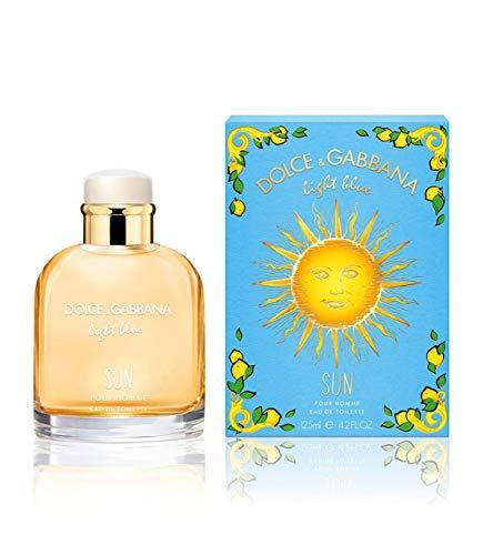Dolce & Gabbana Light Blue Sun Edt Spray 4.2 Oz Men,...