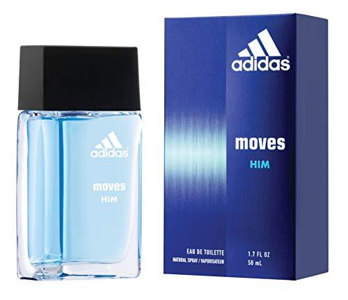 Adidas Moves for Men Eau de Toilette Spray 1.6 Fl OZ