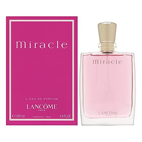 LANCOME PARIS Miraclefor Women Eau de Parfum, 3.4...
