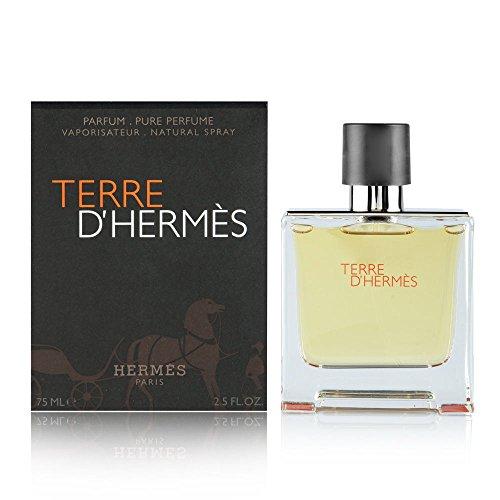 Terre D' Hermes By Hermes For Men. Parfum Spray 2.5 Oz...