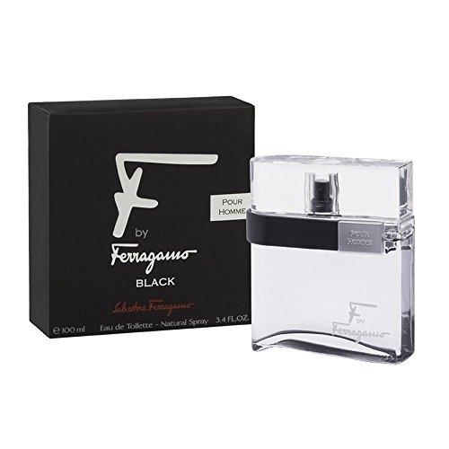F by Ferragamo Black By Salvatore Ferragamo For Men Eau...