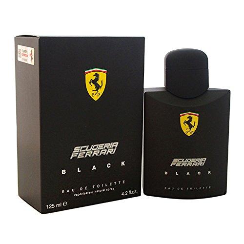 Ferrari Scuderia Black Eau De Toilette Spray For Men,...