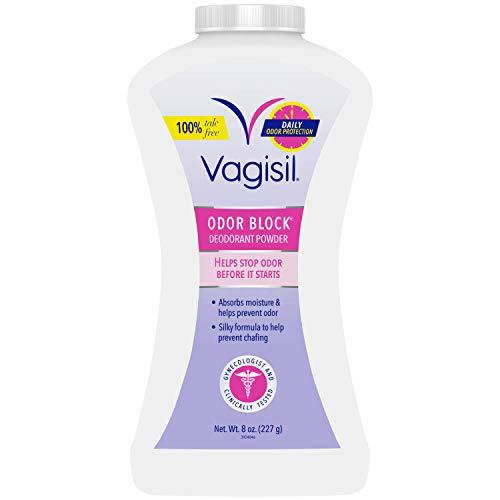 Vagisil Odor Block Feminine Deodorant Powder for Women,...