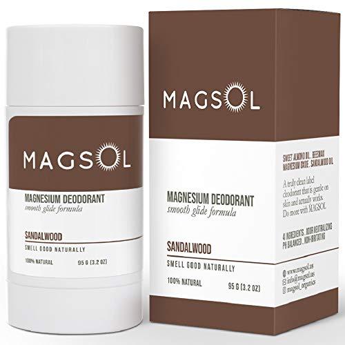 MAGSOL Natural Deodorant for Men & Women - Mens...