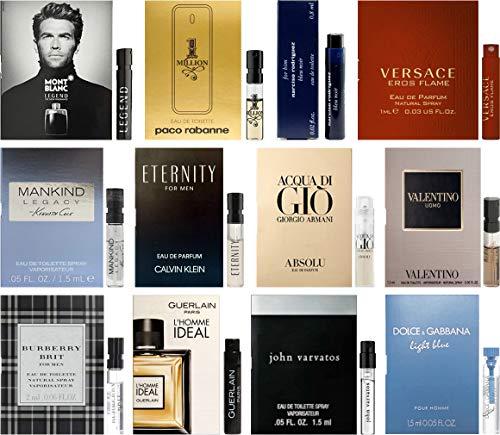 Best Selling Designer Fragrance Sampler for Men - Lot x...