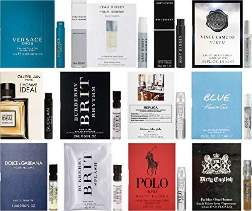 Designer Fragrance Samples for Men - Sampler Lot x 12...
