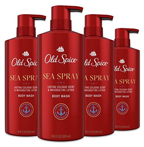 Old Spice Body Wash for Men, Aluminum Free, Sea Spray...
