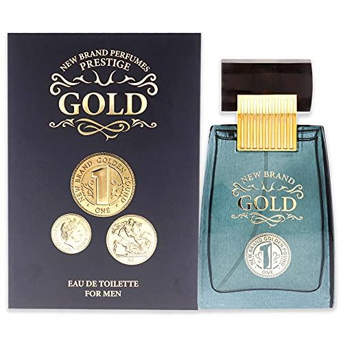 New Brand Gold EDT Spray Men 3.3 oz
