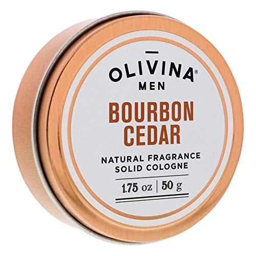 Olivina Men Solid Natural Fragrance Cologne, Bourbon...