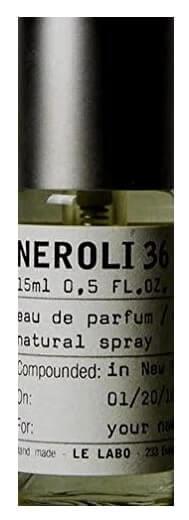 LE LABO NEROLI 36 eau de cologne