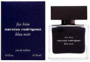 Narciso Rodriguez Bleu Noir for Men Eau de Toilette Spray, 1.6 Ounce