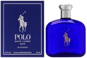Polo Blue by Ralph Lauren for Men, Eau De Toilette Natural Spray, 4.2 Ounce