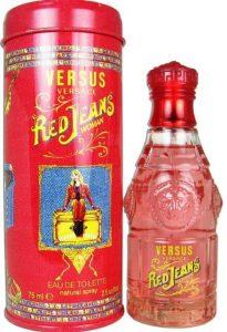 Versace Red Jeans for Women Eau De Toilette Spray, 2.5 Ounce